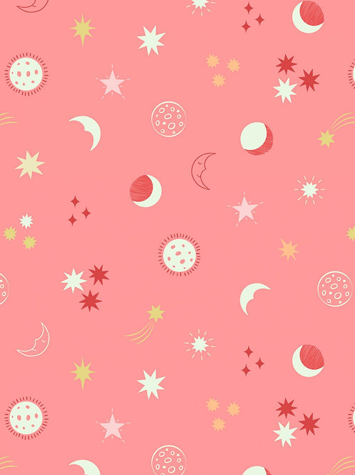 Nightsky on sundown pink