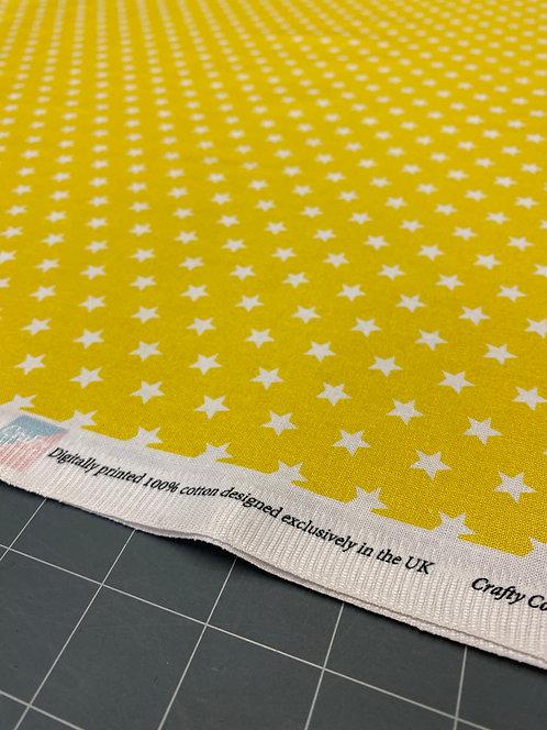 Yellow Star Poplin