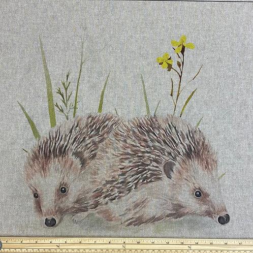 Hedgehog cushion panel