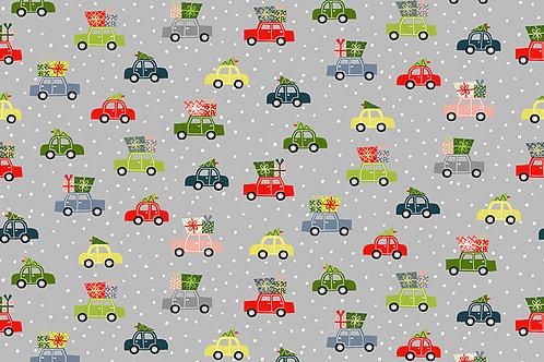 Cars on grey