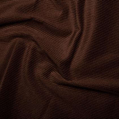 Brown cotton corduroy
