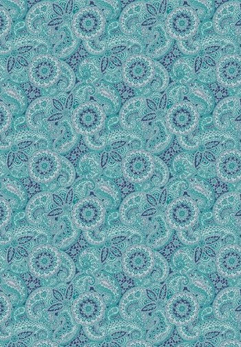 Paisley Meadow Blue