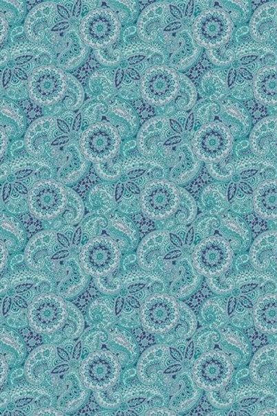 Paisley Meadow Blue
