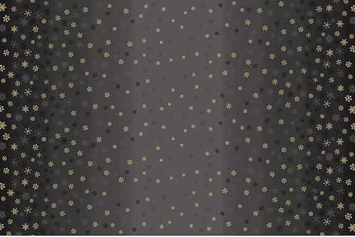 Ombre Snowflake Black