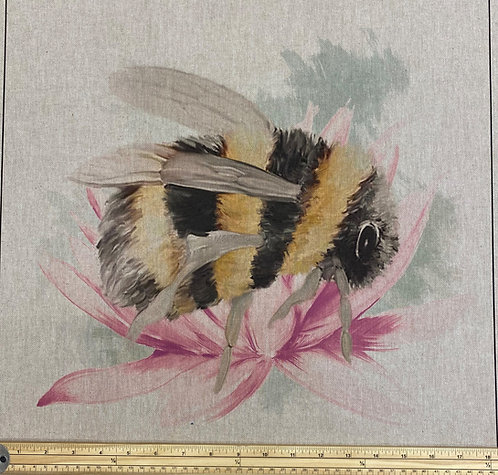 Bombini Bee cushion panel
