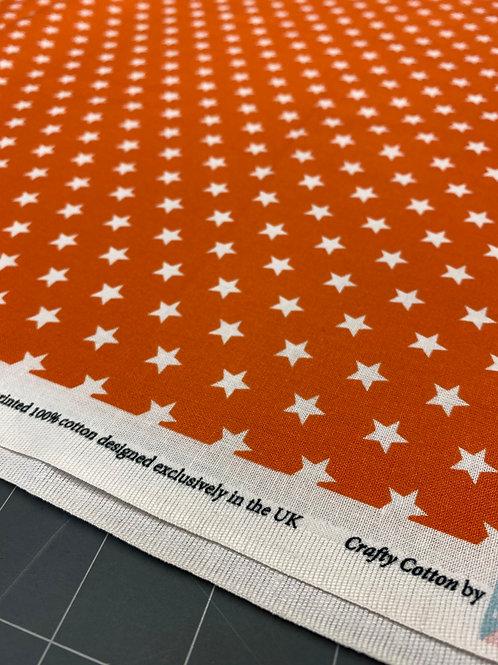 Orange Star Poplin
