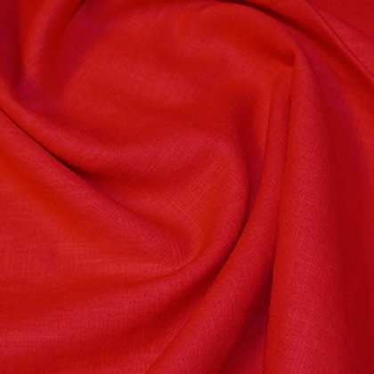 Red enzyme washed linen