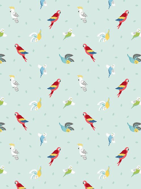 Birds on Peppermint