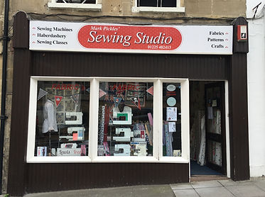 Mark Pickles Sewing Studio store front