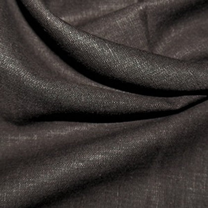 Brown enzyme washed linen