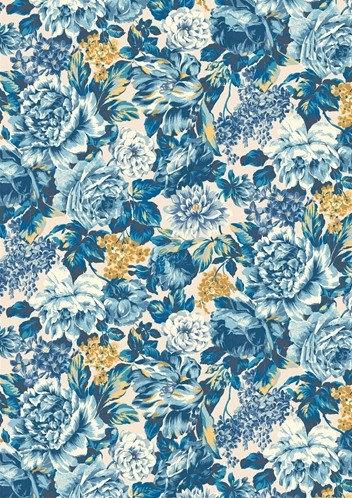 Wild Bloom Blue
