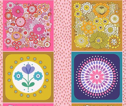 Flower Child - Cushion panels