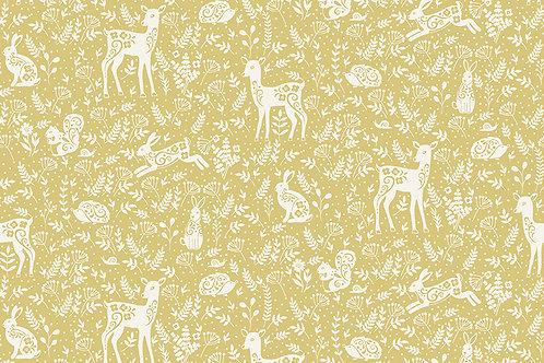 Animals On Yellow