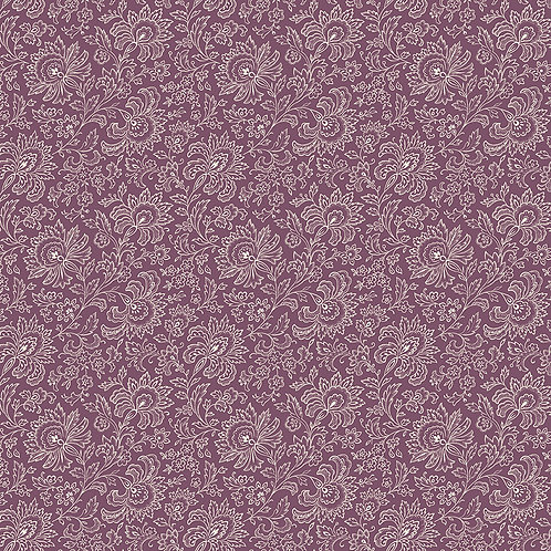 Paisley plum