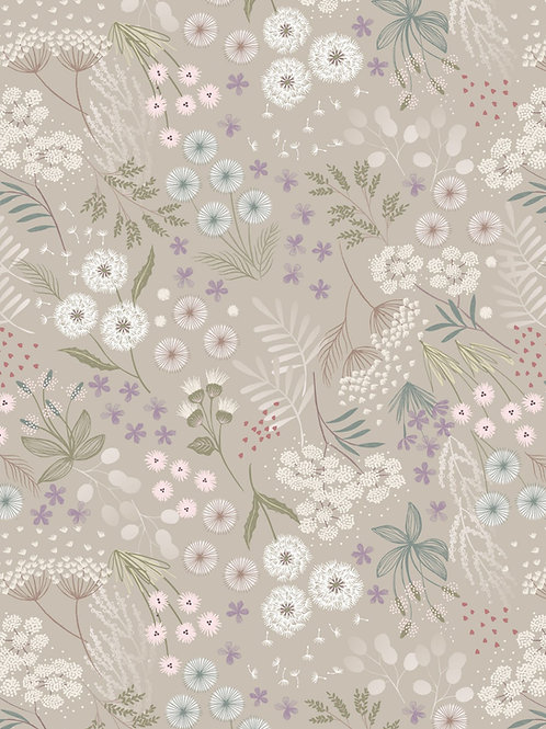 Cream linen fairy plants