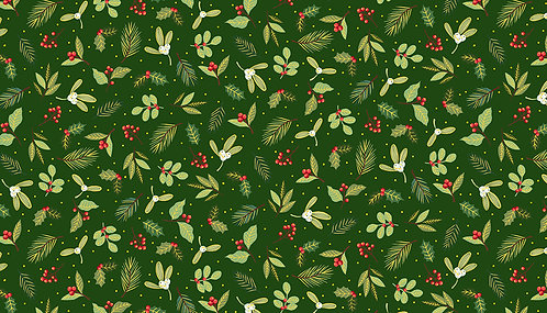Yuletide Scatter Green