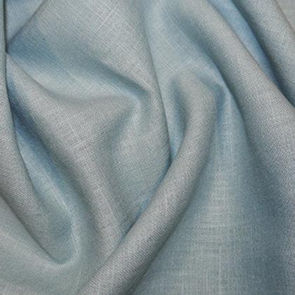Aqua enzyme washed linen