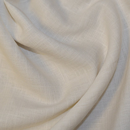 Ivory enzyme washed linen