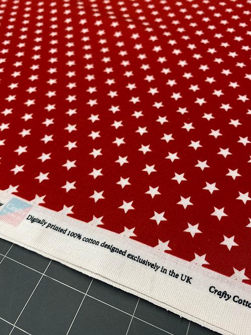 Red Star Poplin