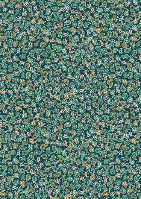 Small Paisley greens