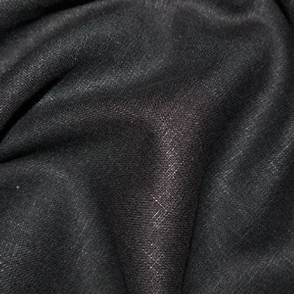Black enzyme washed linen
