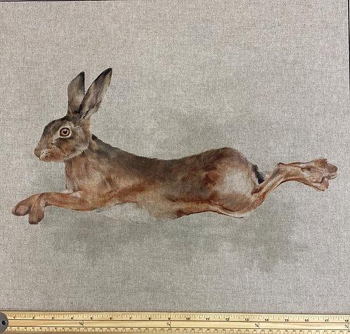 Hare cushion panel