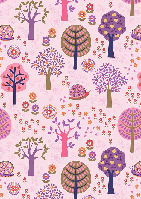Groovy Forest on Pink