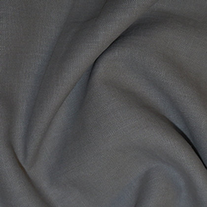 Pewter enzyme washed linen