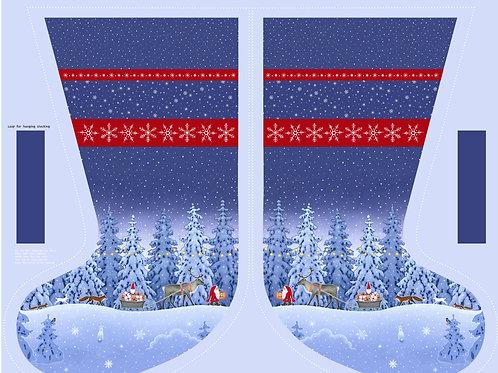 Stocking Panel - Tomten's