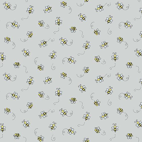 Bumble bee light grey
