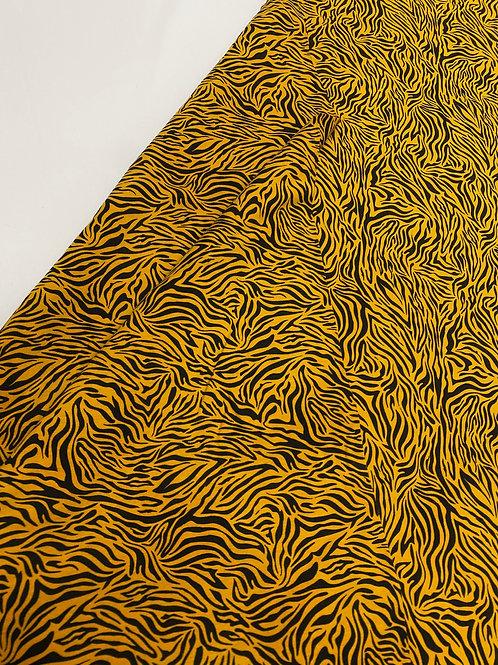 Mustard Tiger print