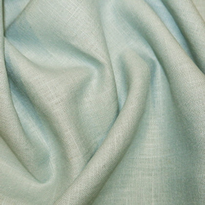 Mint enzyme washed linen
