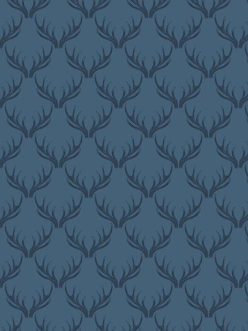 Loch blue antlers