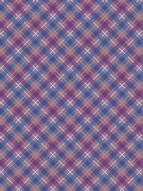 Purple Iona Check