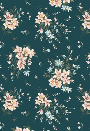 Winterbourne Bouquet Teal