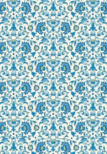 Culodden Vine Blue