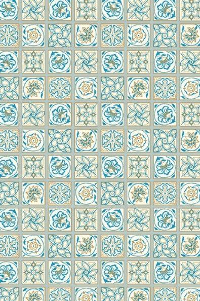 Argyll Tile Blue