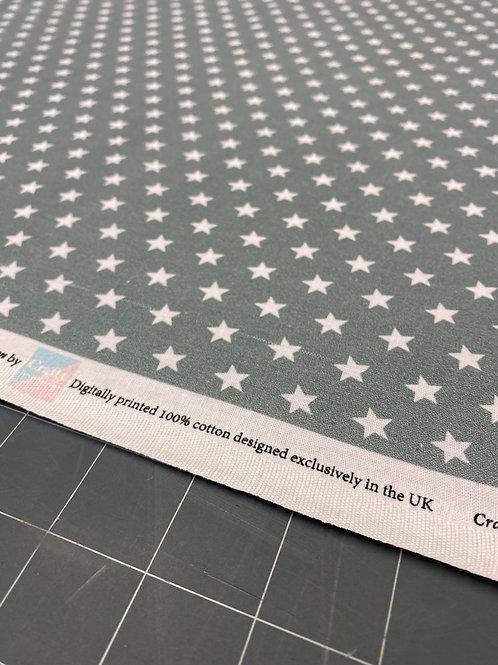Grey Star Poplin