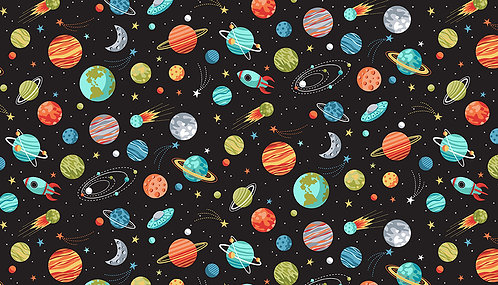 Planets on Black