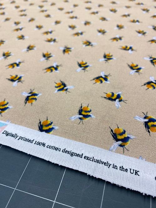 Beige Bee Poplin
