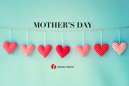 Join us this Mother's Day (5/9) @11am!
