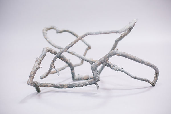 Freddy Morris, Bronze Sculpture, Ivy Tangle