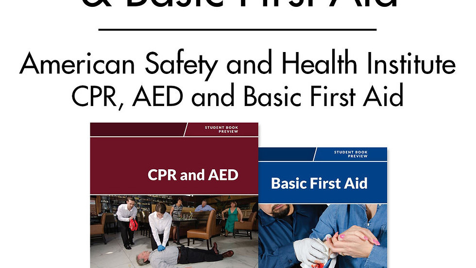 CPR / AED & Basic First Aid