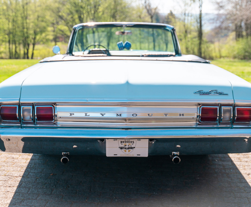 Plymouth Fury III Shooting mit Peter von