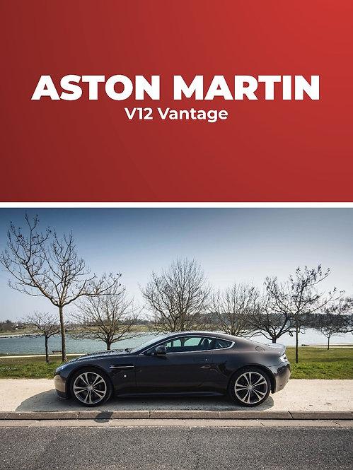 Aston Martin V12 Vantage • Stage conduite