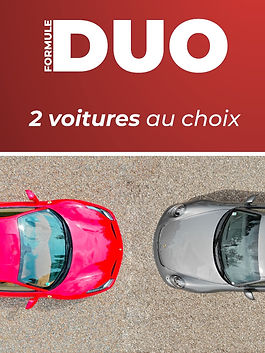 Formule duo 2 voitures Tours Prestige Cars