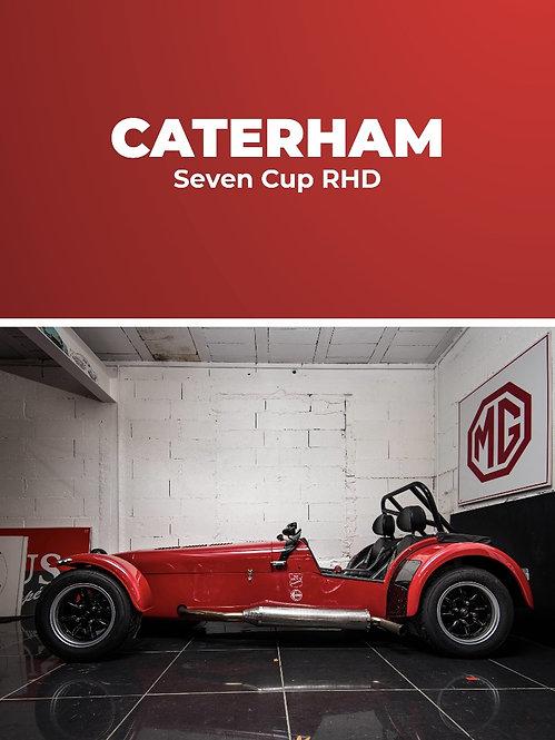 Caterham Seven Cup RHD • Stage conduite