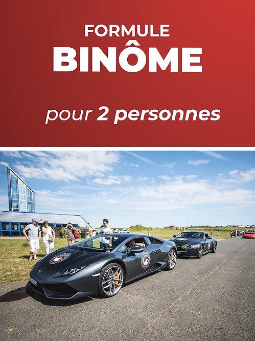 Formule Binôme (2 personnes) • Stage conduite