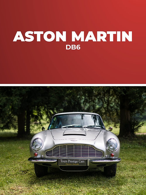 Aston Martin DB6 1967 • Baptême passager