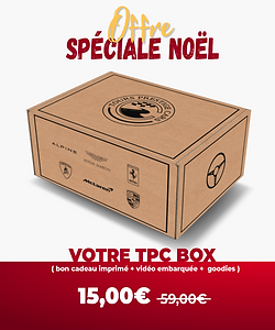 Offre spéciale noël TPC BOX Tours Presti